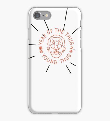 YEAR OF THE THUG - Young Thug ART iPhone Case/Skin