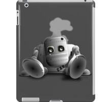 C.A.N the robot - cute tired robot iPad Case/Skin