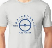 Pokemon Blue Version Unisex T-Shirt