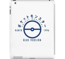 Pokemon Blue Version iPad Case/Skin