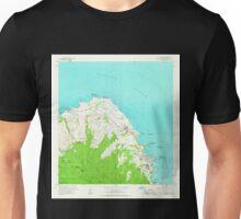 USGS TOPO Map Hawaii HI Kahuku 349334 1965 24000 Unisex T-Shirt