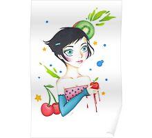 Fruit Girl  Poster