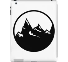 Explore Hike Adventure Mountains iPad Case/Skin