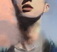 Troye Sivan digital painting Sticker