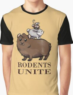 Rodents Unite! Graphic T-Shirt