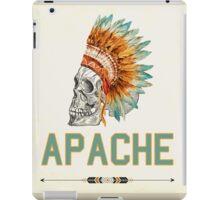 Apache Skullhead indians tribal feather Graphic T-shirt iPad Case/Skin