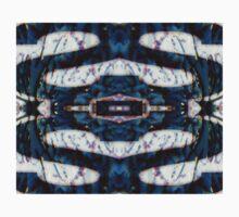 .Kaleidoscope Blue  Kids Tee