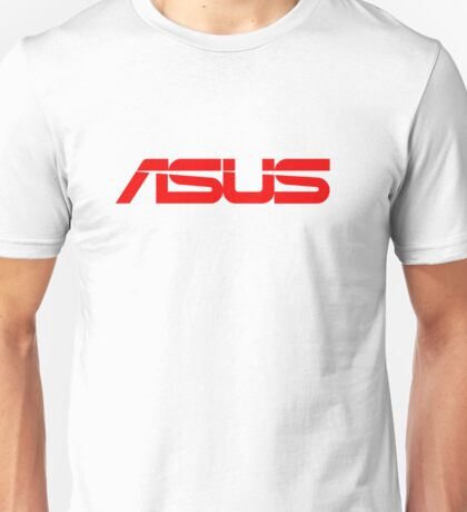 Red Asus Logo Unisex T-Shirt
