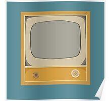 Yellow TV Poster