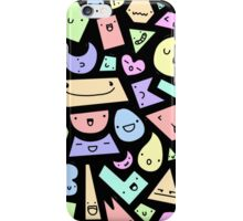 Happy Shapes iPhone Case/Skin