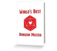 World's Best Dungeon Master Greeting Card