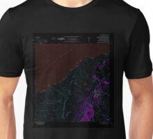 USGS TOPO Map Hawaii HI Pahala 349635 1981 24000 Inverted Unisex T-Shirt