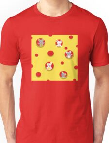 Cheese and mice Unisex T-Shirt