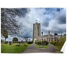 St Peter and Paul church's Church1-Lavenham Poster