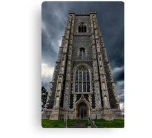 St Peter and Paul church's Church2-Lavenham Canvas Print