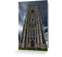 St Peter and Paul church's Church2-Lavenham Greeting Card