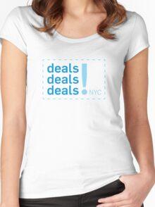 Deals Deals Deals ( Broad City )  Women's Fitted Scoop T-Shirt