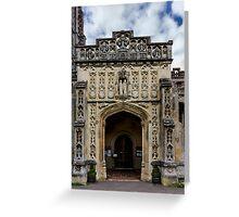 Around St Peter and Paul church's Church4-Lavenham Greeting Card