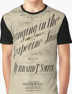 Swinging in the Grapevine Swing Graphic T-Shirt