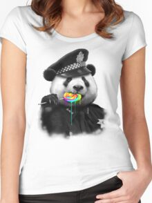 LOLLYPOP COP Women's Fitted Scoop T-Shirt