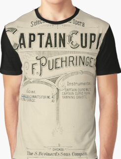 Captain Cupid Graphic T-Shirt