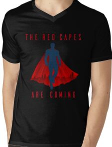The red capes are coming Mens V-Neck T-Shirt