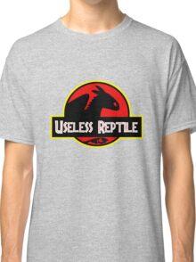 "Jurasic Park Funny ''Useless Reptile"" Classic T-Shirt"