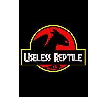 "Jurasic Park Funny ''Useless Reptile"" Photographic Print"