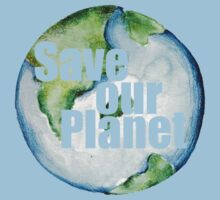 Save Our Planet Earth Day One Piece - Short Sleeve
