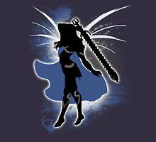 Super Smash Bros. Female Corrin Silhouette Unisex T-Shirt