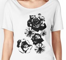 Roses and a Daisy Women's Relaxed Fit T-Shirt