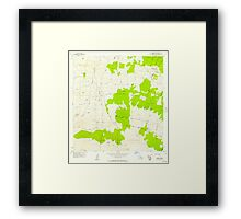 USGS TOPO Map Hawaii HI Umikoa 349754 1956 24000 Framed Print