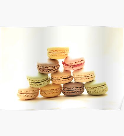 """Macarons by """"Provence Provence"""" Poster"""