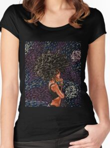 DiAnna Star Women's Fitted Scoop T-Shirt