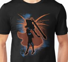 Super Smash Bros. Orange Female Corrin Silhouette Unisex T-Shirt