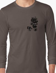Rose and Daisy Mix Long Sleeve T-Shirt