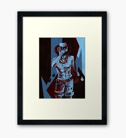 Ace Framed Print