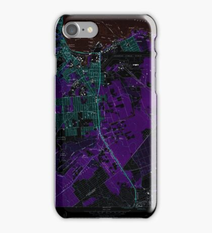 USGS TOPO Map Hawaii HI Hilo 349247 1981 24000 Inverted iPhone Case/Skin