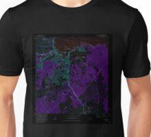 USGS TOPO Map Hawaii HI Hilo 349247 1981 24000 Inverted Unisex T-Shirt