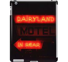 Dairlyland Motel iPad Case/Skin