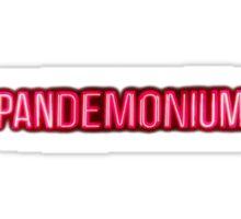 Pandemonium Sticker