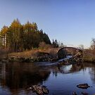 Roman Bridge on the River Minnoch by derekbeattie