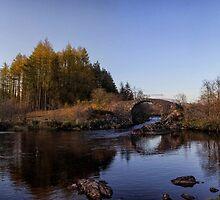 Roman Bridge on the River Minnoch by derekbeattie