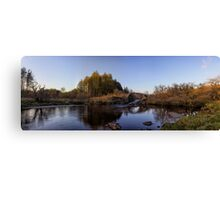 Roman Bridge on the River Minnoch Canvas Print