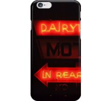 Dairlyland Motel iPhone Case/Skin
