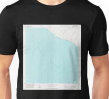 USGS TOPO Map Hawaii HI Puu Hou 349696 1981 24000 Unisex T-Shirt
