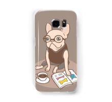 The Hipster Reader Samsung Galaxy Case/Skin