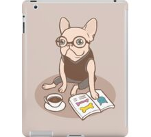 The Hipster Reader iPad Case/Skin