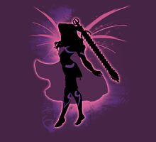Super Smash Bros. Pink Female Corrin Silhouette Unisex T-Shirt