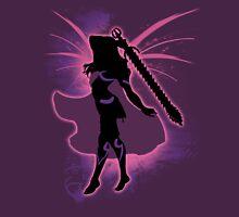 Super Smash Bros. Pink Female Corrin Silhouette Unisex T-Shirt